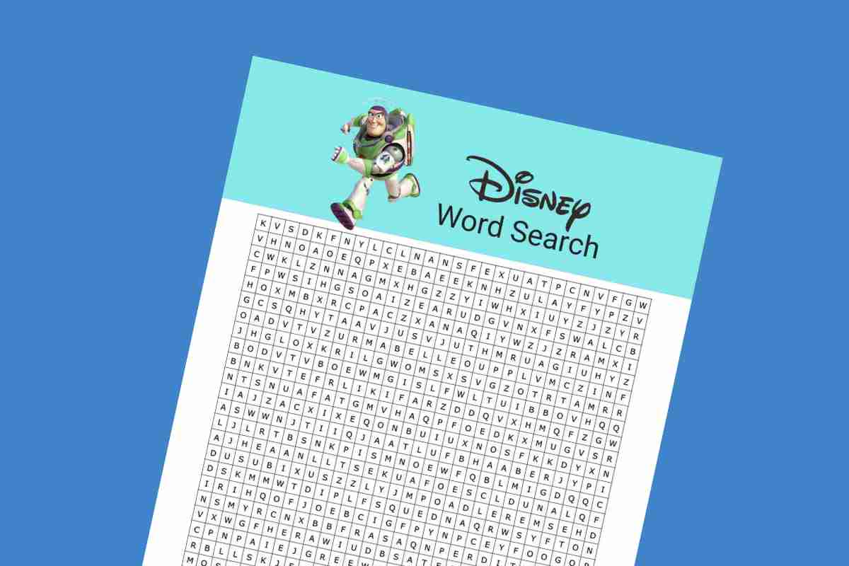 Disney word search lead - Mykidstime