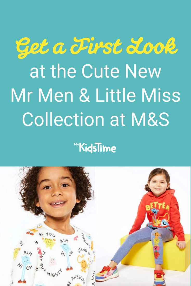 Get a First Look at the New Mr Men & Little Miss Collection at M&S - Mykidstime