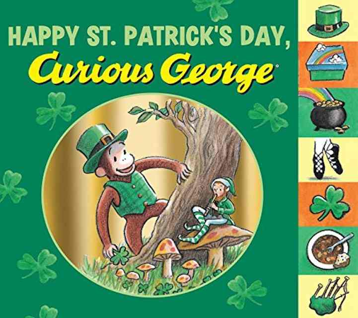 Happy St Patrick's Day Curious George (1)