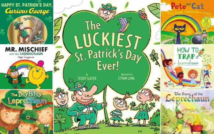 St Patrick's Day Books for kids lead - Mykidstime