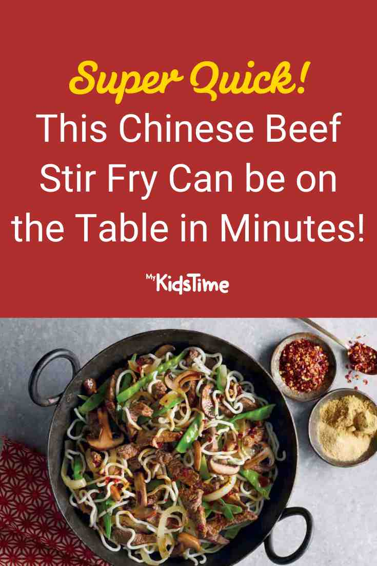 This Chinese Beef Stir Fry Can Be on the Table in Minutes! - Mykidstime