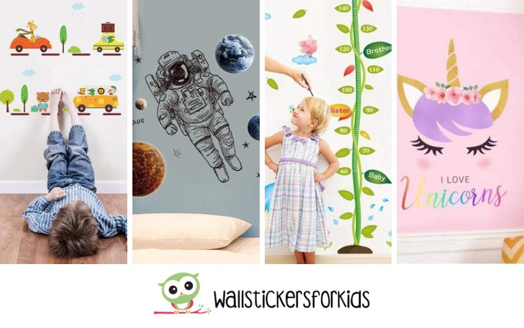 Wall Stickers for Kids how to spruce up your playroom