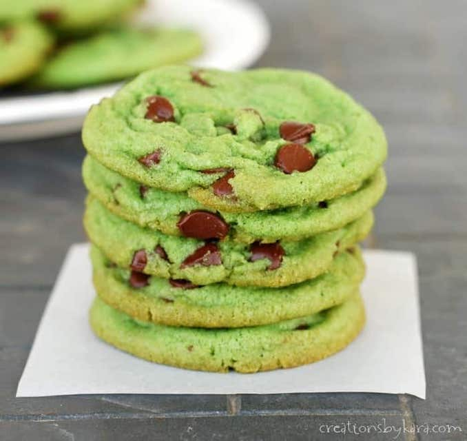 Green foods for St Patrick's Day