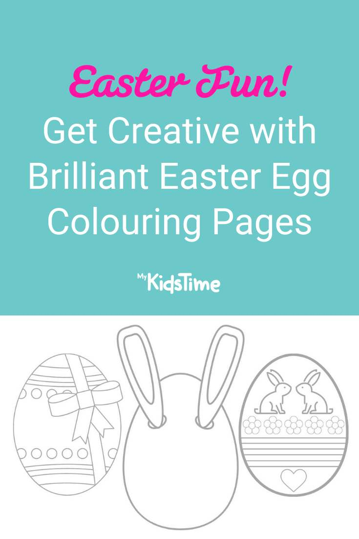 Get Creative with These Brilliant Easter Egg Colouring Pages! - Mykidstime 2