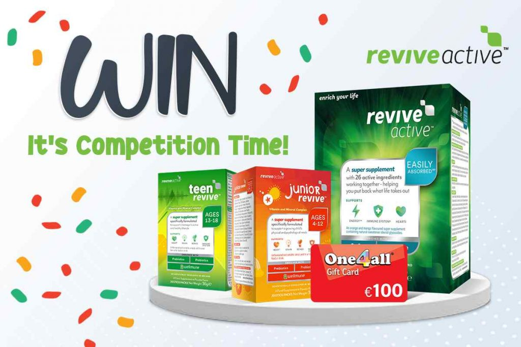 Win Revive Active Supplements & a €100 One4All Voucher