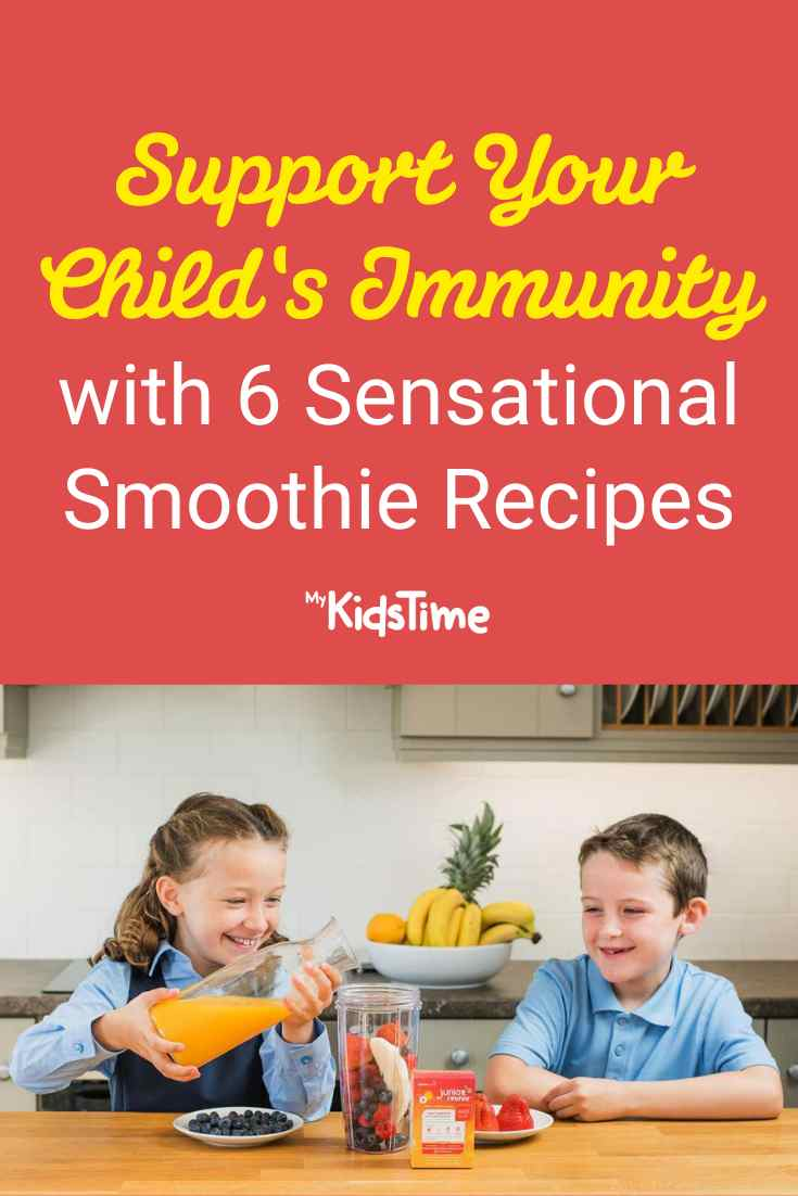 Support Immunity with 6 Sensational Smoothie Recipes - Mykidstime