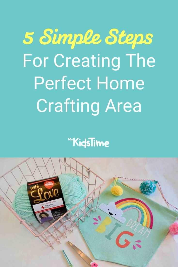 5 Simple Steps for Creating the Perfect Home Crafting Area