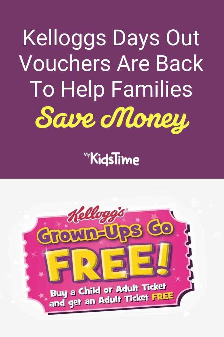 Kelloggs Days Out Vouchers Are Back to Help Families Save Money