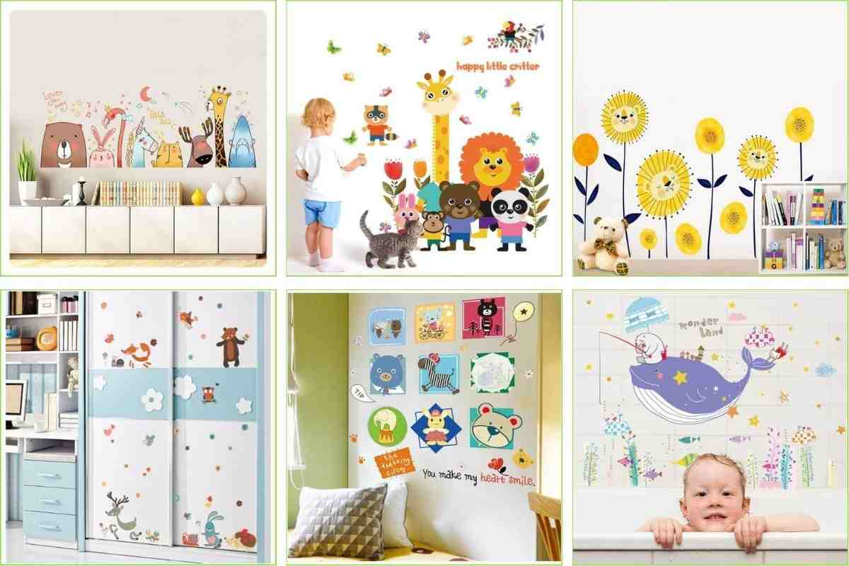 win a set of wall stickers from wall stickers for kids
