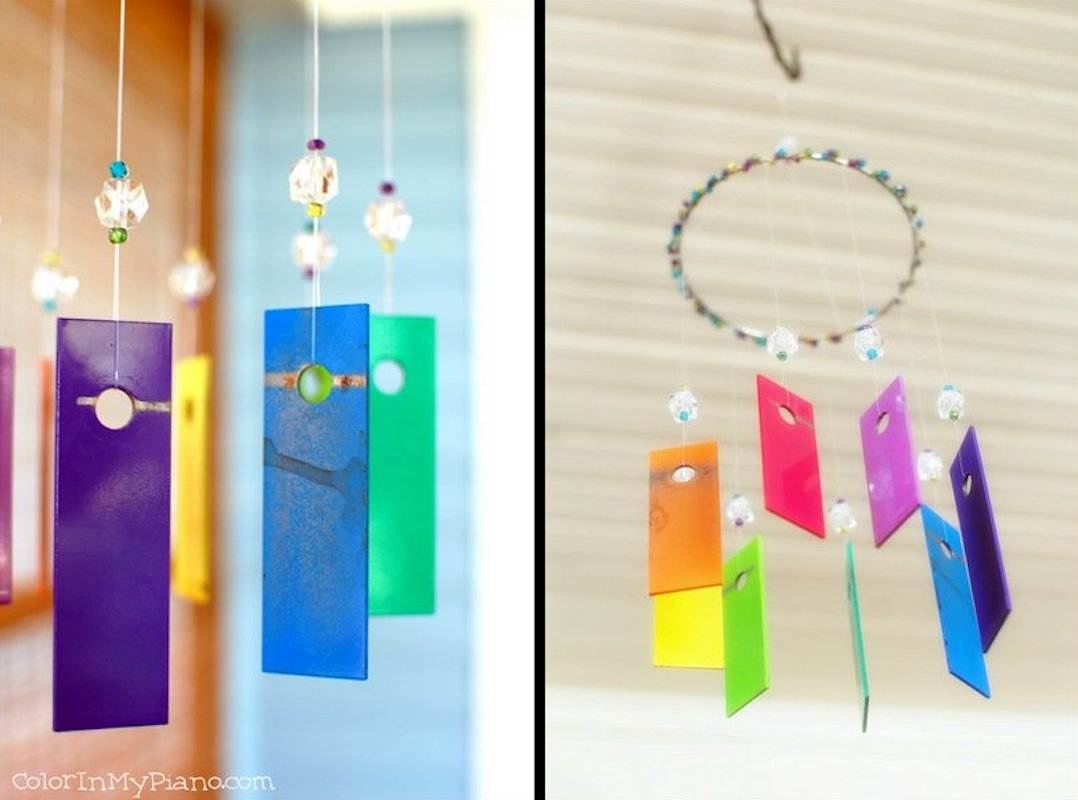 Xylophone wind chime