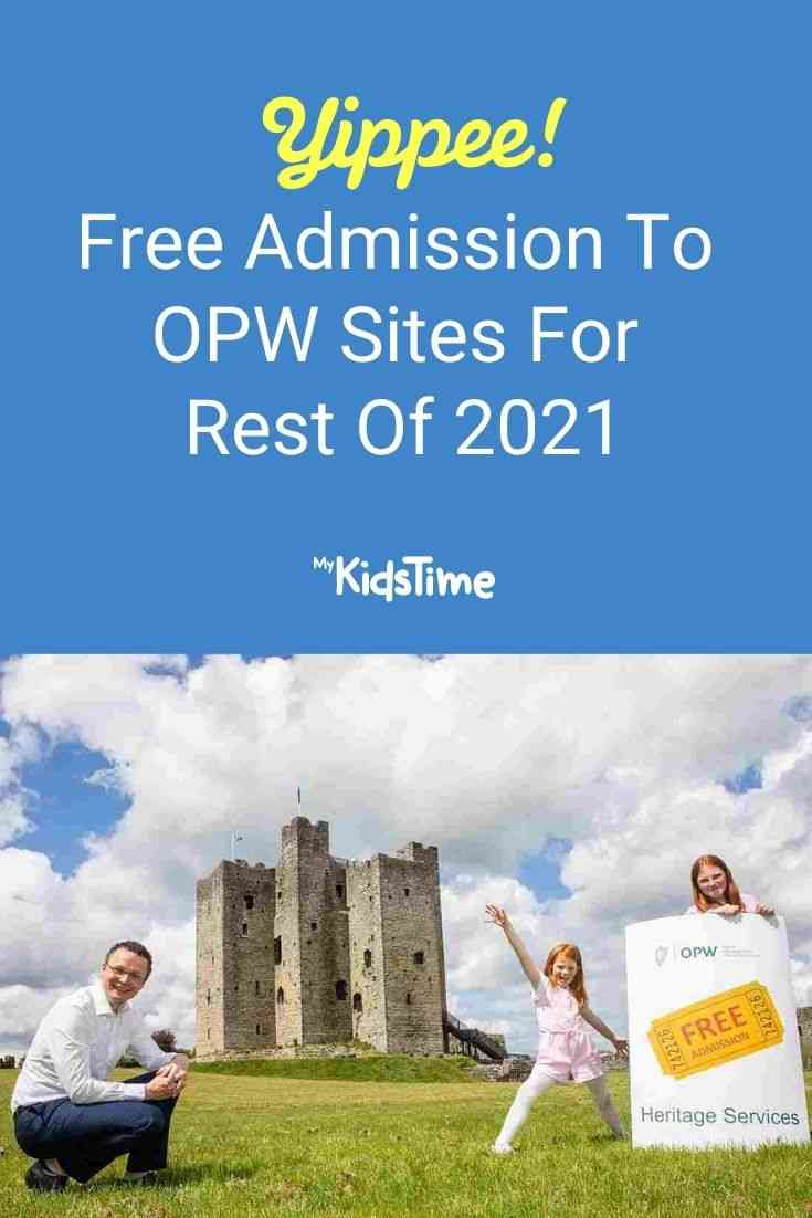 Free Admission to OPW Sites for Rest of 2021