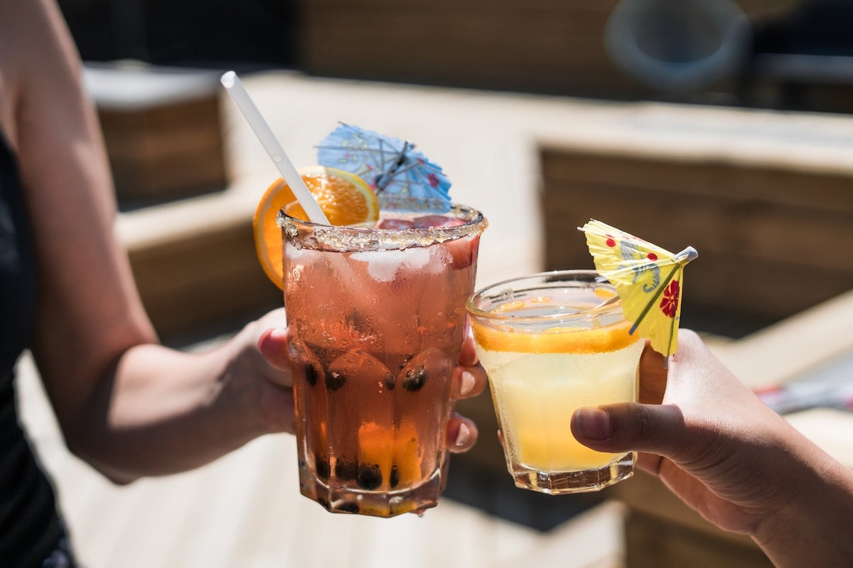 Win cocktail goodies