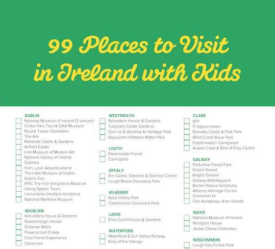 Crop Download 99 Places to Visit in Ireland with Kids Checklist - Mykidstime