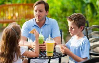 Family days out with dining options around Ireland