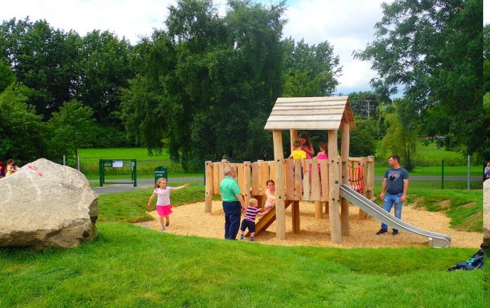 Things to do with the family in Dublin South Playing in the park