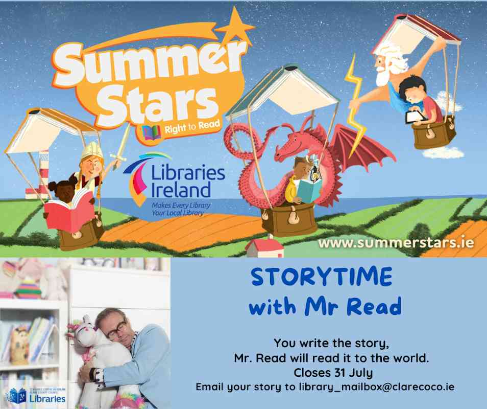 Storytime with Mr Read
