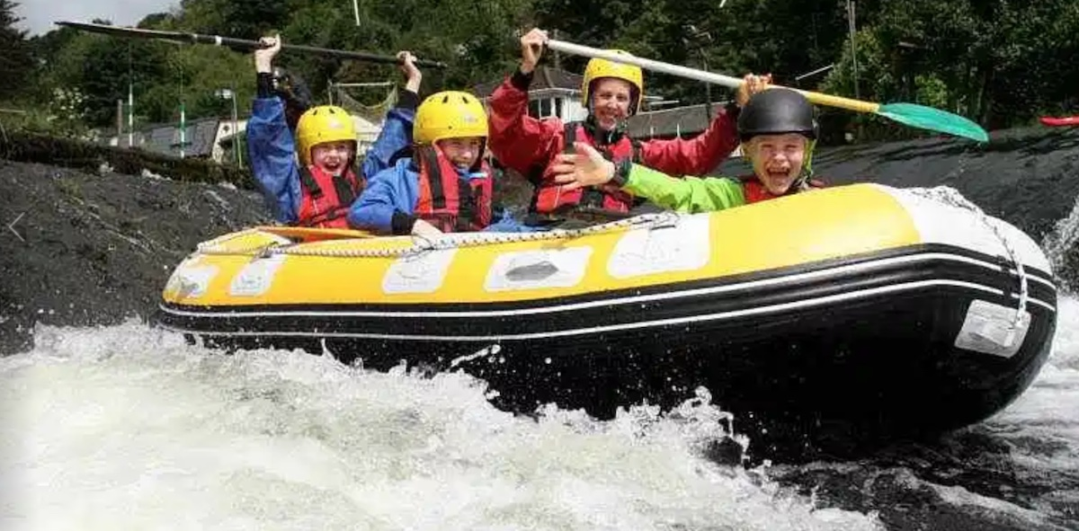 Rafting on the River Liffey SDCC Things to do with the family in Dublin
