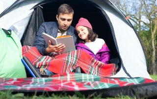 cheat sheet to camping with kids