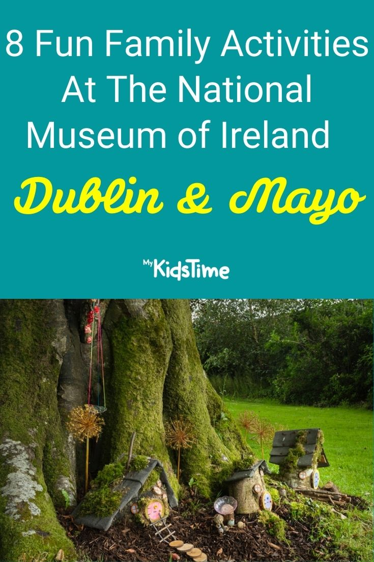 free family activities at the National Museum of Ireland