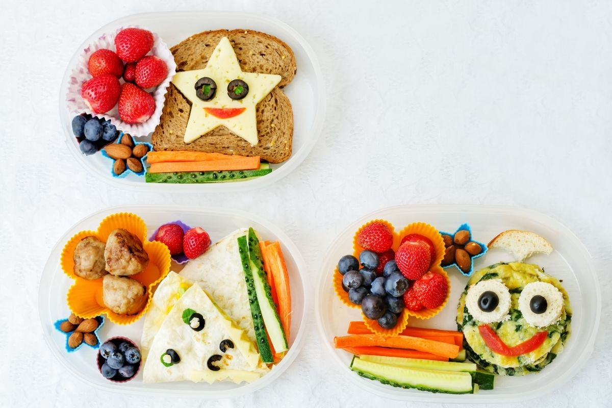 Make lunches fun to help avoid school lunch food waste