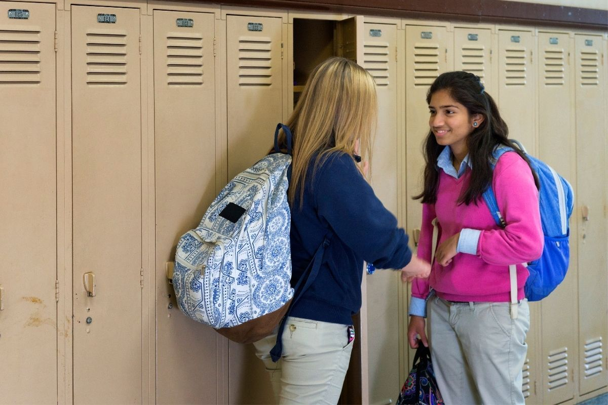 Lockers tips to help your child with the transition to secondary school
