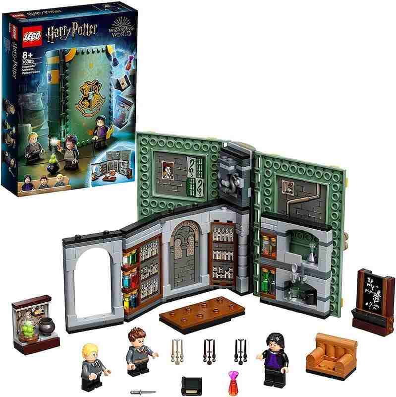 Hot toys for Christmas 2021 LEGO Harry Potter Hogwarts Moment Potions (1)
