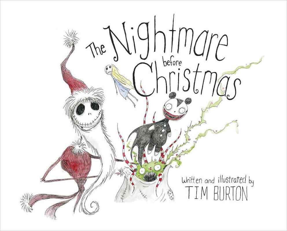 The Nightmare Before Christmas for Halloween books for kids