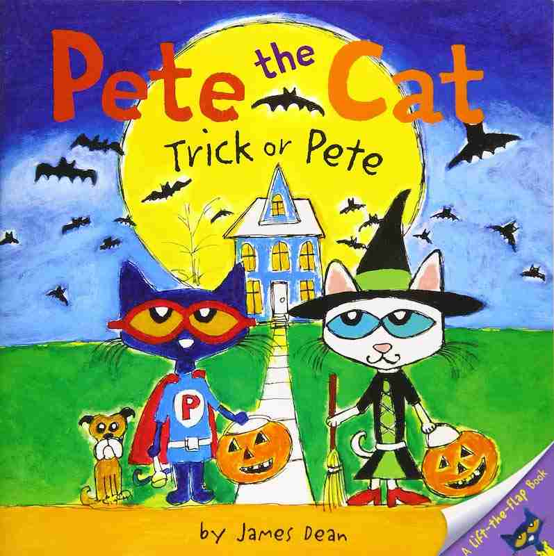 Pete the Car Halloween books for kids
