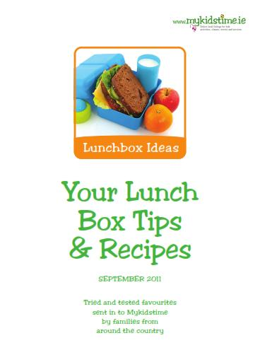 lunch box tips and recipes