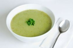 roasted potato leek soup