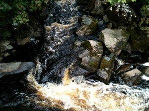 Spiddal Waterfall